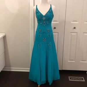 Sue Wong Nocturne beaded dress prom